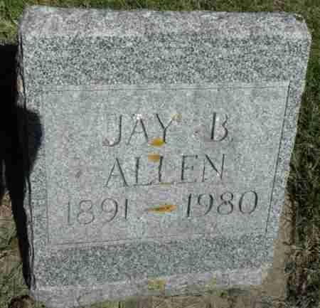 ALLEN, JAY BOWEN - Minnehaha County, South Dakota | JAY BOWEN ALLEN - South Dakota Gravestone Photos