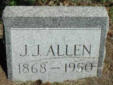 ALLEN, JAMES JUDSON - Minnehaha County, South Dakota   JAMES JUDSON ALLEN - South Dakota Gravestone Photos