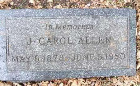 ALLEN, J. CAROL - Minnehaha County, South Dakota | J. CAROL ALLEN - South Dakota Gravestone Photos