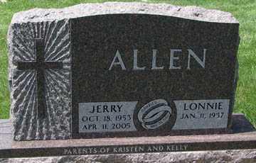 ALLEN, JERRY - Minnehaha County, South Dakota | JERRY ALLEN - South Dakota Gravestone Photos