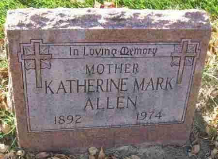 ALLEN, KATHERINE - Minnehaha County, South Dakota | KATHERINE ALLEN - South Dakota Gravestone Photos