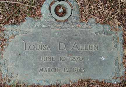 ALLEN, LOUISA D. - Minnehaha County, South Dakota   LOUISA D. ALLEN - South Dakota Gravestone Photos