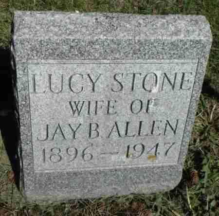 STONE ALLEN, LUCY MAE - Minnehaha County, South Dakota | LUCY MAE STONE ALLEN - South Dakota Gravestone Photos