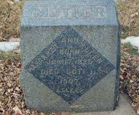 ALLEN, MARGARET ANN - Minnehaha County, South Dakota   MARGARET ANN ALLEN - South Dakota Gravestone Photos