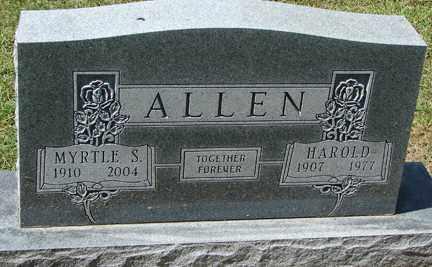 ALLEN, HAROLD - Minnehaha County, South Dakota   HAROLD ALLEN - South Dakota Gravestone Photos