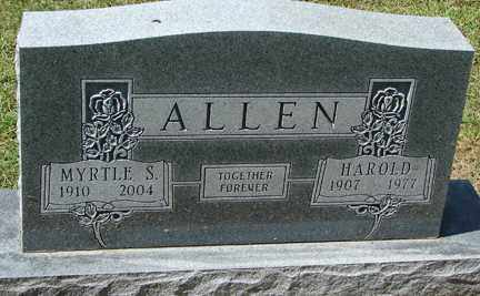 ALLEN, MYRTLE S. - Minnehaha County, South Dakota | MYRTLE S. ALLEN - South Dakota Gravestone Photos