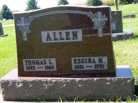 ALLEN, REGINA M. - Minnehaha County, South Dakota | REGINA M. ALLEN - South Dakota Gravestone Photos