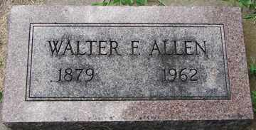 ALLEN, WALTER F. - Minnehaha County, South Dakota | WALTER F. ALLEN - South Dakota Gravestone Photos