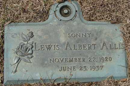 ALLIS, LEWIS ALBERT - Minnehaha County, South Dakota | LEWIS ALBERT ALLIS - South Dakota Gravestone Photos