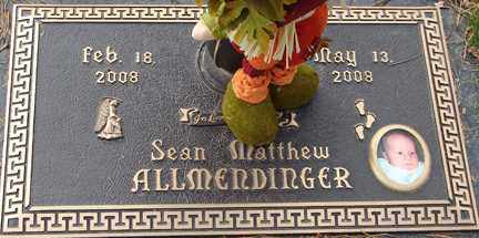 ALLMENDINGER, SEAN MATTHEW - Minnehaha County, South Dakota | SEAN MATTHEW ALLMENDINGER - South Dakota Gravestone Photos