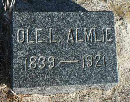 ALMLIE, OLE L. - Minnehaha County, South Dakota   OLE L. ALMLIE - South Dakota Gravestone Photos