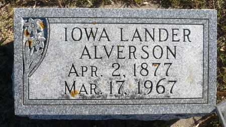 PAGE ALVERSON, IOWA DAKOTA - Minnehaha County, South Dakota   IOWA DAKOTA PAGE ALVERSON - South Dakota Gravestone Photos