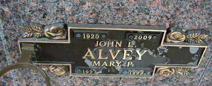 ALVEY, MARY P. - Minnehaha County, South Dakota | MARY P. ALVEY - South Dakota Gravestone Photos