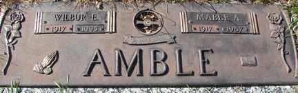 AMBLE, MABLE A. - Minnehaha County, South Dakota | MABLE A. AMBLE - South Dakota Gravestone Photos