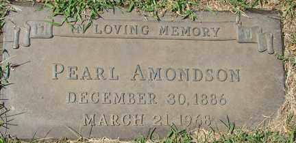 AMONDSON, PEARL - Minnehaha County, South Dakota | PEARL AMONDSON - South Dakota Gravestone Photos