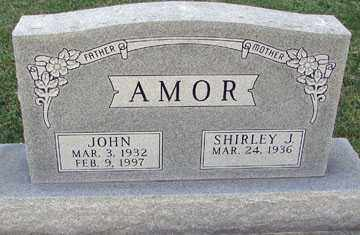AMOR, SHIRLEY J. - Minnehaha County, South Dakota | SHIRLEY J. AMOR - South Dakota Gravestone Photos