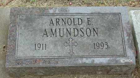 AMUNDSON, ARNOLD E. - Minnehaha County, South Dakota | ARNOLD E. AMUNDSON - South Dakota Gravestone Photos