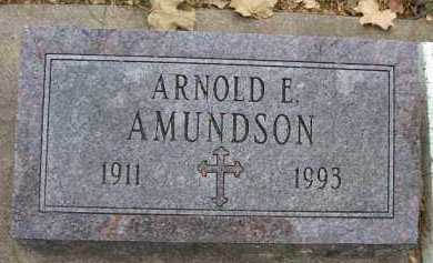 AMUNDSON, ARNOLD E. - Minnehaha County, South Dakota | ARNOLD E. AMUNDSON - South Dakota Gravestone Photos