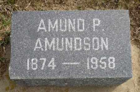 AMUNDSON, AMUND P. - Minnehaha County, South Dakota | AMUND P. AMUNDSON - South Dakota Gravestone Photos