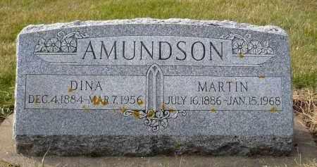 AMUNDSON, DINA - Minnehaha County, South Dakota   DINA AMUNDSON - South Dakota Gravestone Photos