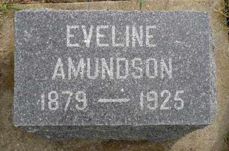 AMUNDSON, EVELINE - Minnehaha County, South Dakota   EVELINE AMUNDSON - South Dakota Gravestone Photos