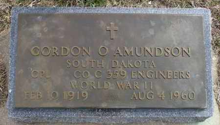 AMUNDSON, GORDON O. (WWII) - Minnehaha County, South Dakota | GORDON O. (WWII) AMUNDSON - South Dakota Gravestone Photos