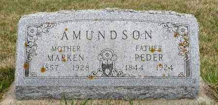 AMUNDSON, MARKEN - Minnehaha County, South Dakota | MARKEN AMUNDSON - South Dakota Gravestone Photos