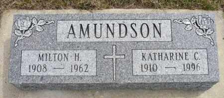 AMUNDSON, KATHARINE C. - Minnehaha County, South Dakota | KATHARINE C. AMUNDSON - South Dakota Gravestone Photos