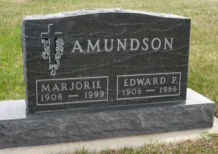 AMUNDSON, EDWARD P. - Minnehaha County, South Dakota | EDWARD P. AMUNDSON - South Dakota Gravestone Photos