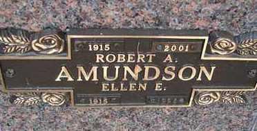 AMUNDSON, ELLEN E. - Minnehaha County, South Dakota | ELLEN E. AMUNDSON - South Dakota Gravestone Photos
