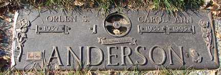 ANDERSON, ORLEN S. - Minnehaha County, South Dakota | ORLEN S. ANDERSON - South Dakota Gravestone Photos