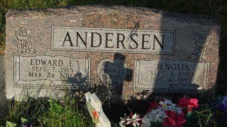 ANDERSEN, EDWARD E. - Minnehaha County, South Dakota | EDWARD E. ANDERSEN - South Dakota Gravestone Photos