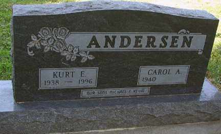 ANDERSEN, CAROL A. - Minnehaha County, South Dakota | CAROL A. ANDERSEN - South Dakota Gravestone Photos