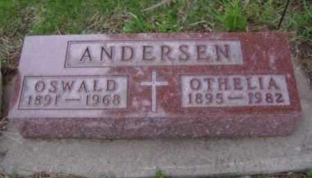 ANDERSEN, OTHELIA - Minnehaha County, South Dakota | OTHELIA ANDERSEN - South Dakota Gravestone Photos