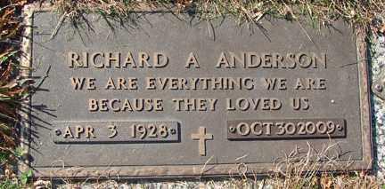 ANDERSON, RICHARD ANDERS - Minnehaha County, South Dakota | RICHARD ANDERS ANDERSON - South Dakota Gravestone Photos