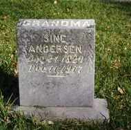 ANDERSEN, SINE - Minnehaha County, South Dakota | SINE ANDERSEN - South Dakota Gravestone Photos