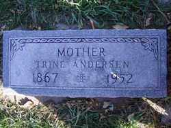 ANDERSEN, TRINE - Minnehaha County, South Dakota | TRINE ANDERSEN - South Dakota Gravestone Photos