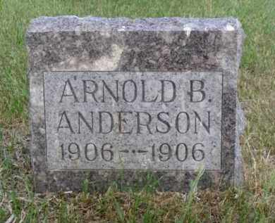ANDERSON, ARNOLD B. - Minnehaha County, South Dakota | ARNOLD B. ANDERSON - South Dakota Gravestone Photos