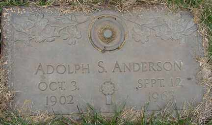 ANDERSON, ADOLPH S. - Minnehaha County, South Dakota | ADOLPH S. ANDERSON - South Dakota Gravestone Photos