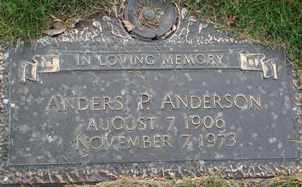 ANDERSON, ANDERS P. - Minnehaha County, South Dakota | ANDERS P. ANDERSON - South Dakota Gravestone Photos
