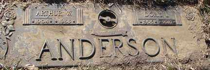 ANDERSON, DORIS L. - Minnehaha County, South Dakota | DORIS L. ANDERSON - South Dakota Gravestone Photos