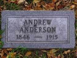 ANDERSON, ANDREW - Minnehaha County, South Dakota | ANDREW ANDERSON - South Dakota Gravestone Photos