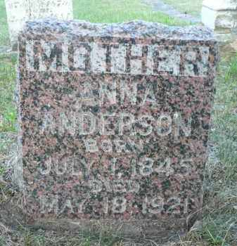 FORTON ANDERSON, ANNA - Minnehaha County, South Dakota | ANNA FORTON ANDERSON - South Dakota Gravestone Photos