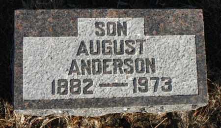 ANDERSON, AUGUST - Minnehaha County, South Dakota | AUGUST ANDERSON - South Dakota Gravestone Photos