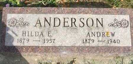 ANDERSON, HILDA E. - Minnehaha County, South Dakota | HILDA E. ANDERSON - South Dakota Gravestone Photos
