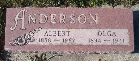 ANDERSON, OLGA - Minnehaha County, South Dakota | OLGA ANDERSON - South Dakota Gravestone Photos