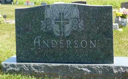 ANDERSON, VIOLA B. - Minnehaha County, South Dakota | VIOLA B. ANDERSON - South Dakota Gravestone Photos
