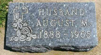 ANDERSON, AUGUST M. - Minnehaha County, South Dakota | AUGUST M. ANDERSON - South Dakota Gravestone Photos