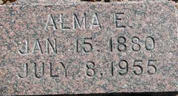 ANDERSON, ALMA E. - Minnehaha County, South Dakota | ALMA E. ANDERSON - South Dakota Gravestone Photos