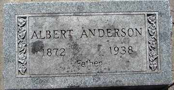 ANDERSON, ALBERT - Minnehaha County, South Dakota | ALBERT ANDERSON - South Dakota Gravestone Photos